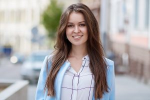 Northshore Dental-Young-Woman-Brown-Hair-Smile-Gallery
