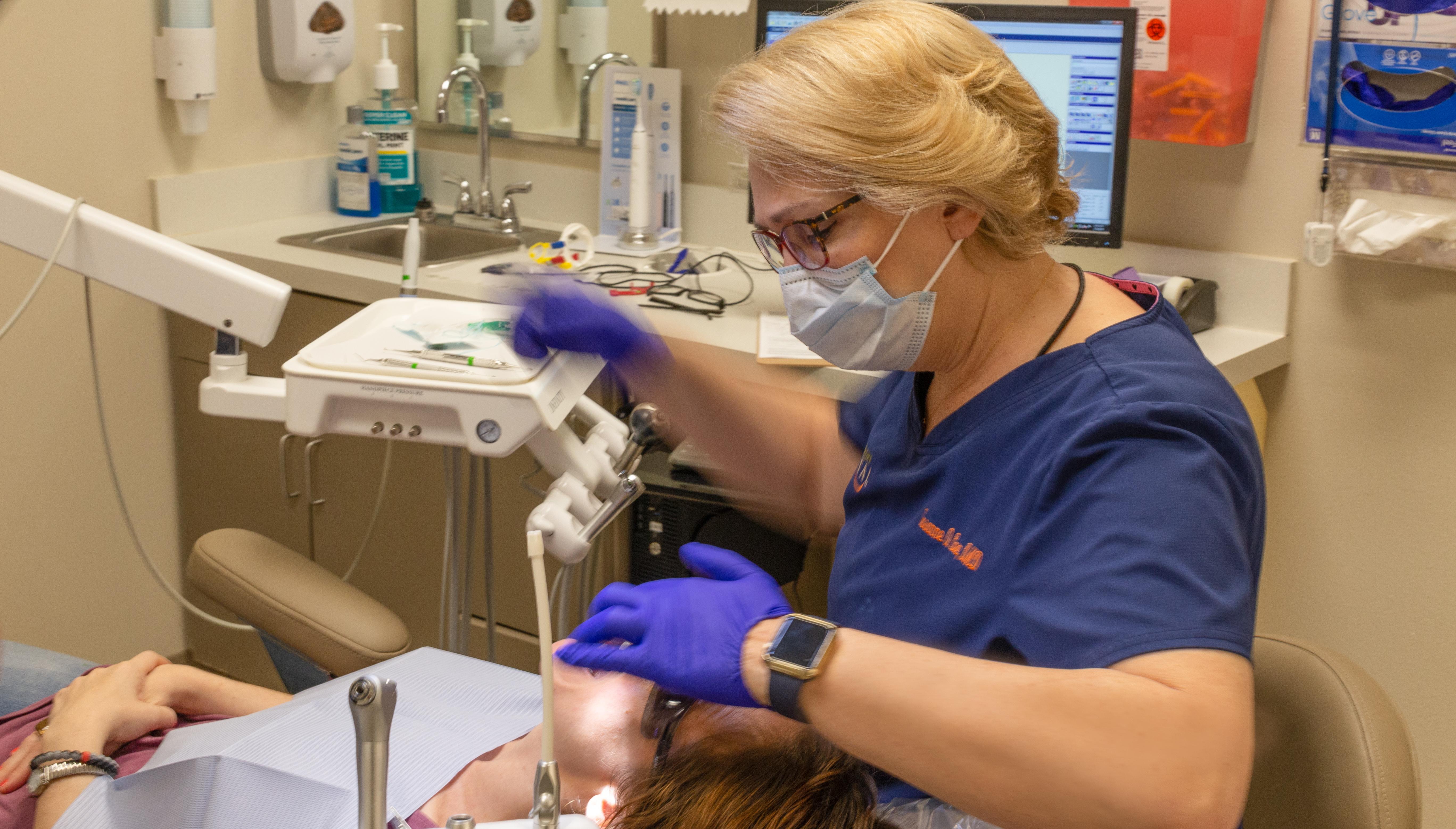 Northshore Dental Image of Dr. Core & Patient