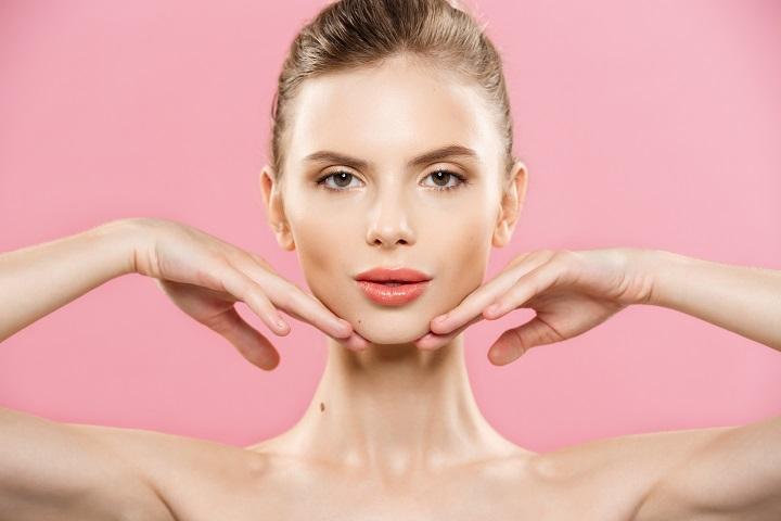 Northshore Dental Close up of attractive woman-natural-skin