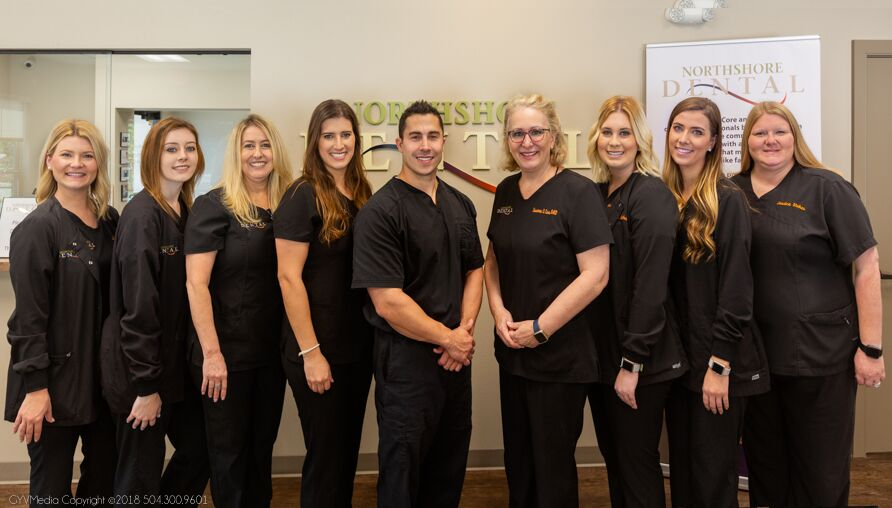 Northshore dental team photo